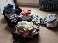 Large assortment of ladies clothing