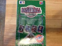 1990-91 upper Deck unopened base ball cards box (36packs)