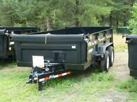 "(new) 2014 P.J. 83""X12' Dump Trailer  (7 Ton)"