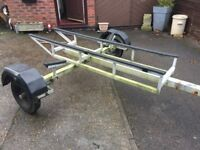 DINGHY/JET SKI ROAD TRAILER SOUTHAMPTON AREA