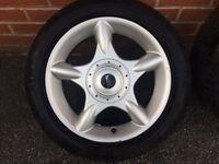 "BMW wheels Mini Cooper 16"" Alloy Spare Alloy 5th wheel"