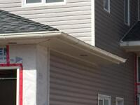 """6"""" half round, 5"""",6"""",7"""" and 8"""" continuous eavestrough"""