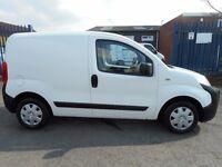 Peugeot bipper 1.4l diesel pannel van with side loading door and rear barn doors
