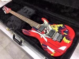 Guitare électrique IBANEZ JS20S 20TH Anniversary JOE SATRIANI Silver Surfer ***Collector***  #F025029