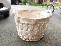 Very large rustic basket