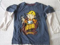 Bob the Builder top, age 4-5