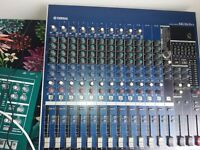 Yamaha MG16/6FX Compact Analog Mixer, perfect condition