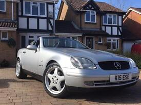 Mercedes SLK 230 kompressor automatic low mileage amg hardtop convertible px possible