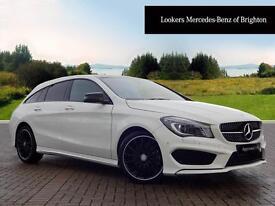 Mercedes-Benz CLA CLA220 CDI AMG SPORT (white) 2015-12-18