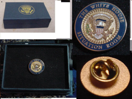 new  presidential white house situation room lapel pin no signature