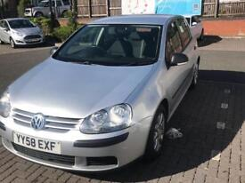 **VG GOLF 1.9TDI🚘58 reg**£1395