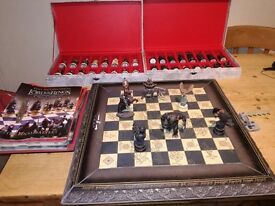 Lord of the Rings Chess Sets Board and Magazines