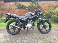 Yamaha YBR125 Cafe Racer Style Custom Motorbike