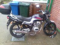 Lexmoto arrow 125 cc motorcycle