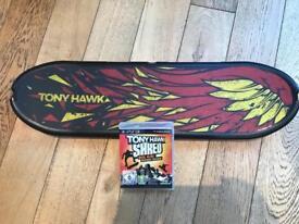 Tony Hawk Shred Game & Skateboard for Playstation 3