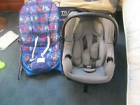BABY CAR SEAT FROM MOTHER CARE .baby bouncer