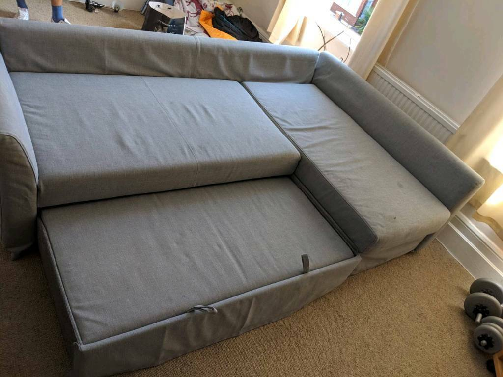 Sofa Bed Like New Ikea Holmsund Grey Washable Cover Sectional