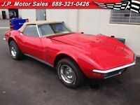 1971 Chevrolet Corvette Stingray Automatic, Convertible, 454