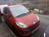 Automatic Peugeot 2005 Dolce 1.4 8v RED MOT till MAY,