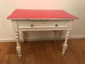 Victorian Pine, painted desk