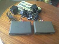 PHILIPS TRANSMITTER AND RECEIVER BOX