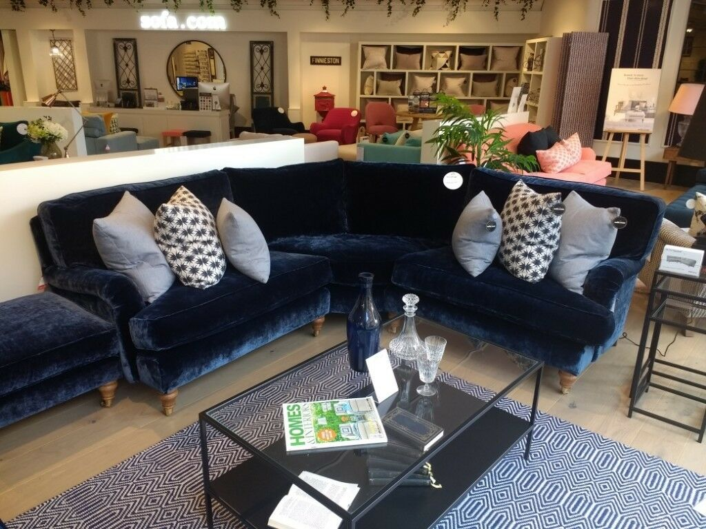 Small Corner Sofa Ex Display Best Selling Bluebell By Sofa Com In
