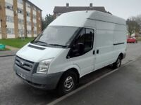 2008 White Ford Transit Panel Box Van 2.4 T280L RWD High Roof! AUX Cable! Low Mileage - Diesel