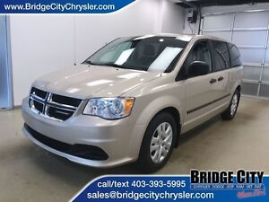 2014 Dodge Grand Caravan SE- Rear Stow'n'Go with Bench in the mi