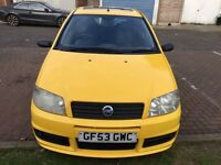 2003 Fiat Punto 1.2 16v Active Sport 3dr F/S History HPI Clear @07445775115@