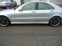 Mercedes S55 AMG with high spec (many extras) - cost new approx £80k