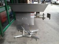 AMERICAN NELLA 32 SIZE 3 PHASE MEAT MINCER GRINDER CATERING COMMERCIAL KITCHEN RESTAURANT BUTCHER