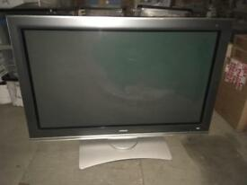 "42"" Flat screen Hitachi TV with built in Freeview £100 ONO"