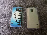 Samsung S5 cases x2