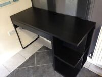 Black IKEA Desk