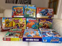 Kids toys games bundle for £40 (10 games)