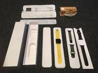 Series 1 Apple Watch 42mm silver + extras