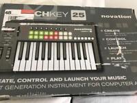 Novation Launchkey Midi Keyboard 25