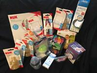 Brand new baby feeding/drinking items and accessories