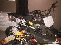 Pitbike for sale sits high little use
