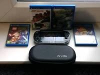 PlayStation Vita and 5 games