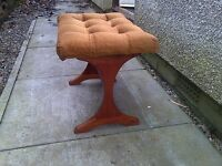 Early G Plan Dressing Table Stool by VB Wilkins