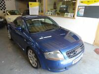 2004 AUDI TT 1.8 T Quattro, 225 BHP, FULL SERVICE HISTORY, FULL LEATHER INTERIOR, VERY CLEAN CAR.