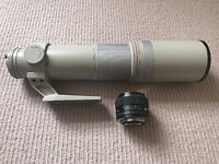 Pentax 50mm f1.2 PRO FAST Prime & Sigma 100-500mm Super Tele (PK mount)