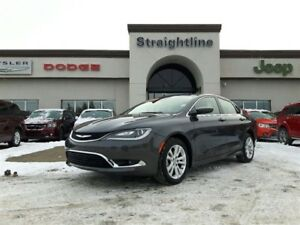 2016 Chrysler 200 LOCAL TRADE! BARELY USED!