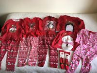 Girls Christmas clothing bundle, size 1.5-2yrs