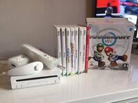 Wii Console With Games & Wii Board, Controls & numchuck