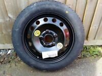 """bmw 16"""" space saver wheel and tyre"""