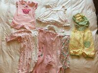 Large 3-6 month girls clothes bundle