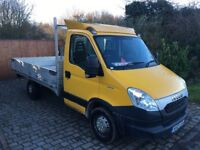 Iveco daily 35s13 dropside truck 2012 automatic 163,000 miles 1 company owner brand new engine