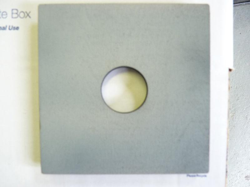 "Burke&James/Grover 5 1/4"" grey lensboard,Copal #0"